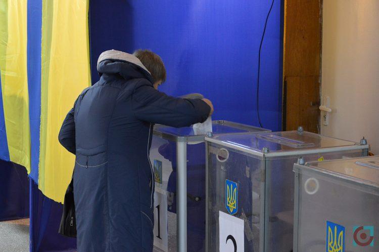 голосування виборча дільниця місцеві вибори