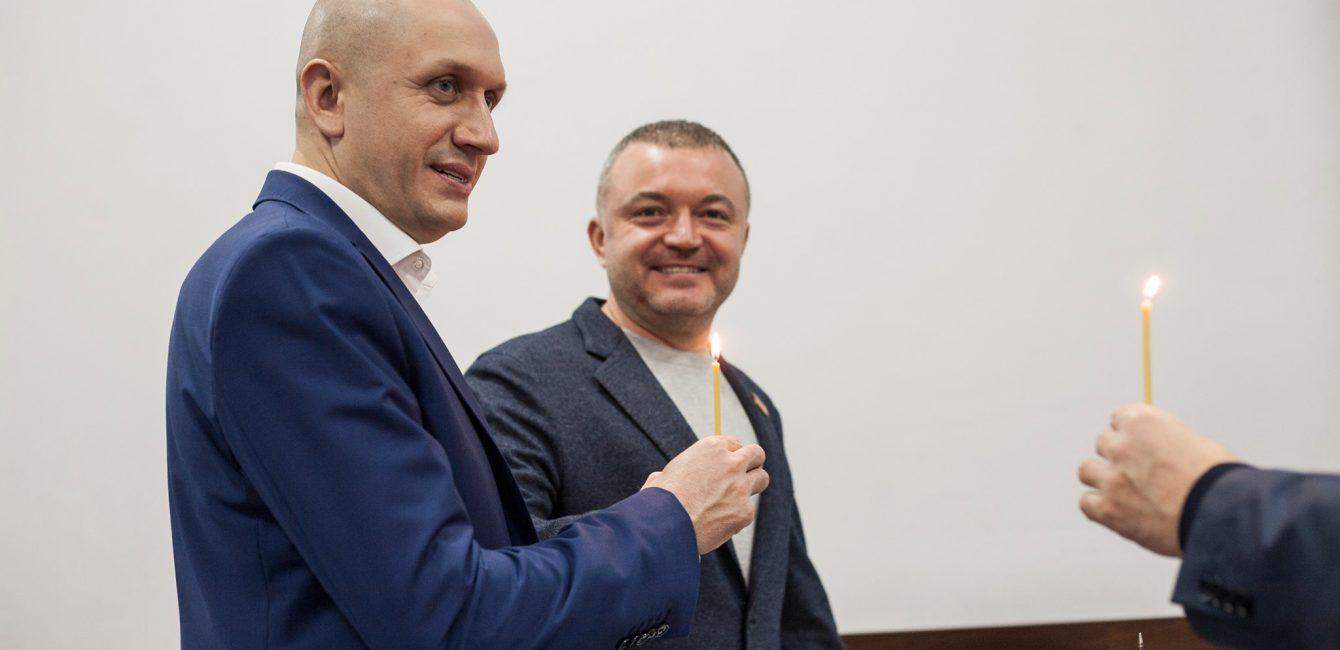 Микола Яручик Андрій Покровський депутат луцька міська рада