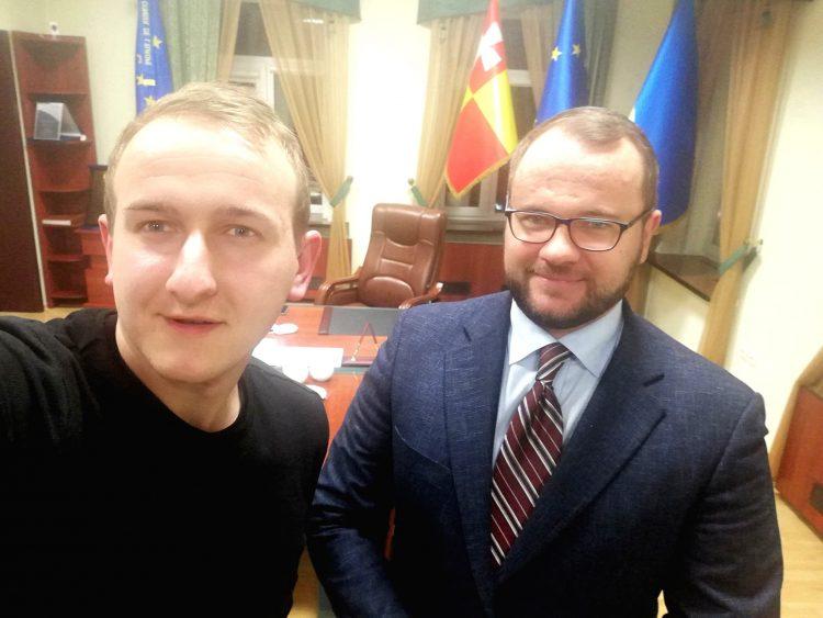 Антон Бугайчук Ігор Поліщук селфі