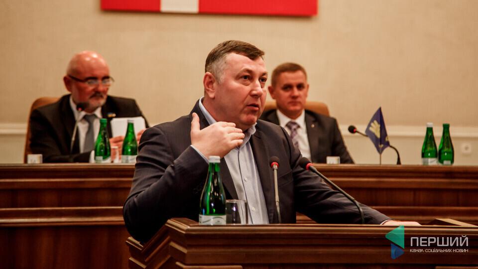 Володимир Бондар депутат Волинська обласна рада