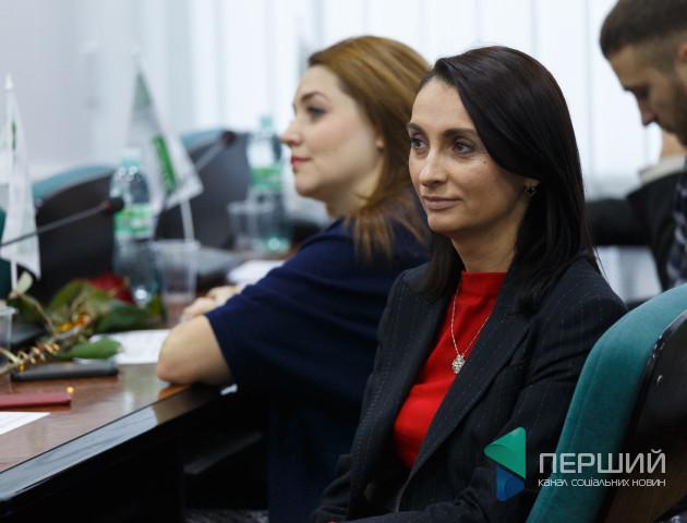 Юлія Вусенко Європейська Солідарність Волинська обласна рада депутатка