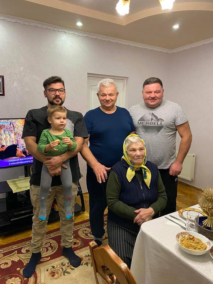 родина Щерблюків
