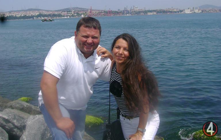 Тарас та Оксана Щерблюки