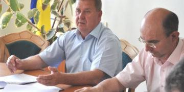 Голова Камінь-Каширської районної ради Віктор Сус та його заступник Сергій Дмитрук