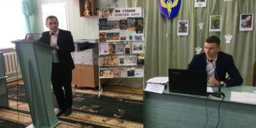 Голова Ковельської райради В'ячеслав Шворак та його заступник Андрій Броїло