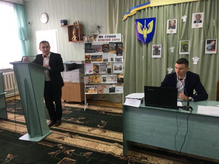 Голова Ковельської райради В'ячеслав Шворак заступник Андрій Броїло