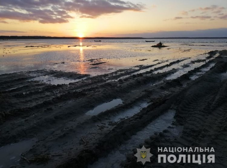Пісок трактор Набережна 2