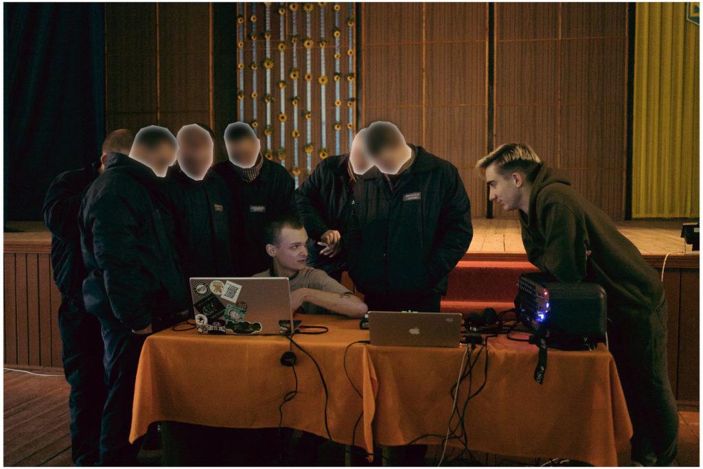 Вихованці Ковельської виховної колонії з гостями установи