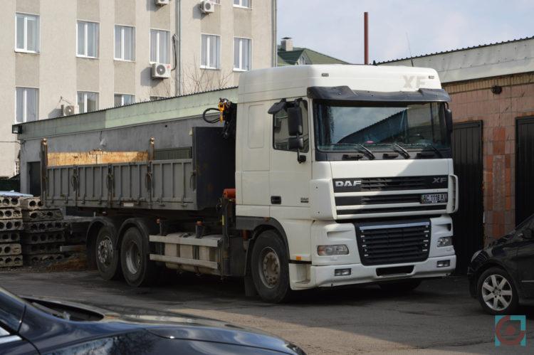 вантажівка КП Райтеплобуд