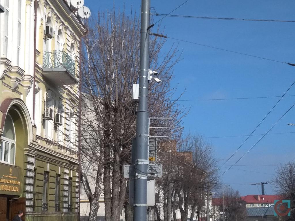 відеокамери на вулиці Винниченка Луцьк