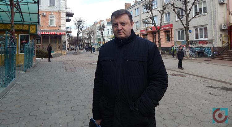 Валерій Клебан у Луцьку