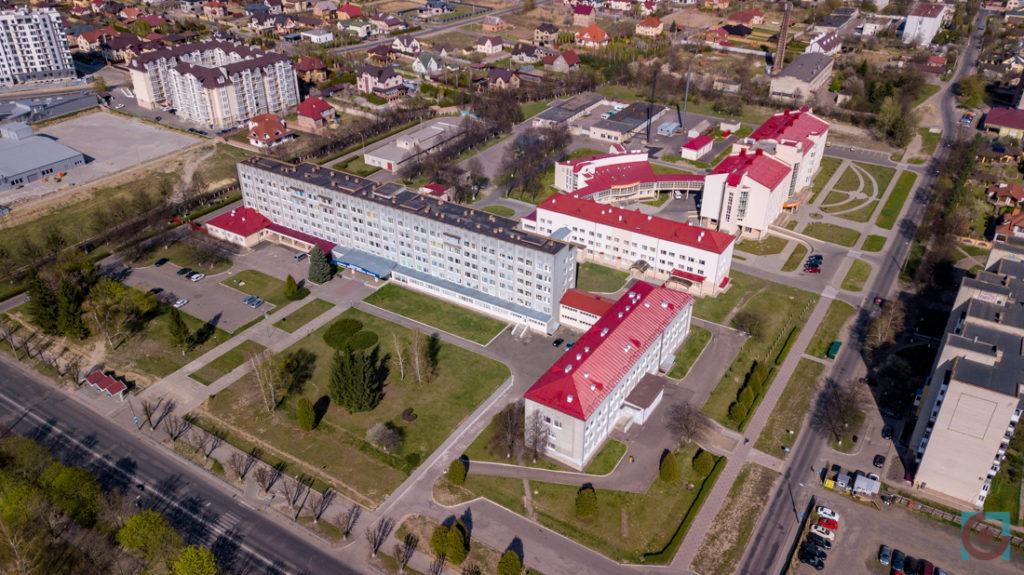 Волинське обласне територіальне медичне об'єднання захисту материнства і дитинства аерозйомка