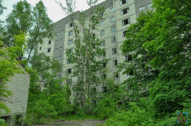 Багатоповерхівка у Прип'яті