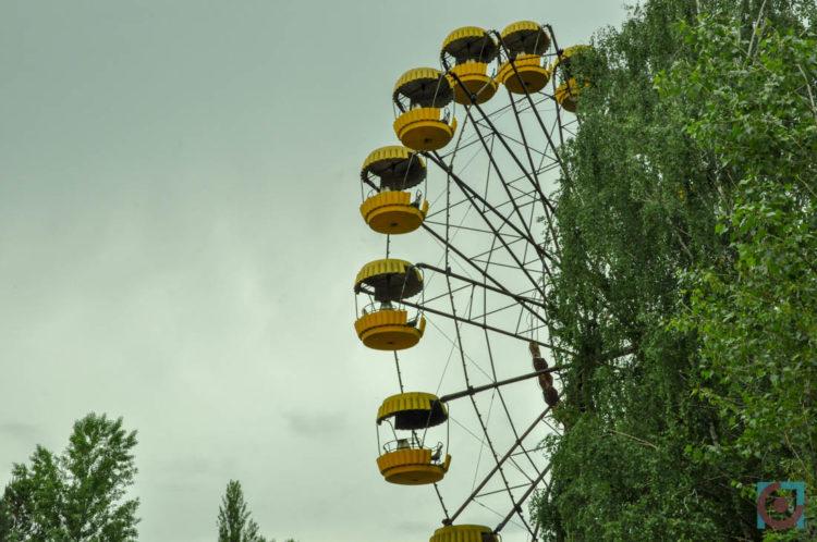 Оглядове колесо у Прип'яті