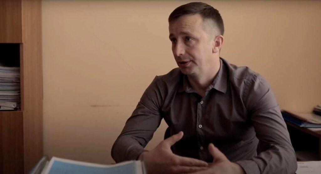 Завідувач Сектору Держводагентства у Волинській області Андрій Мельничук.