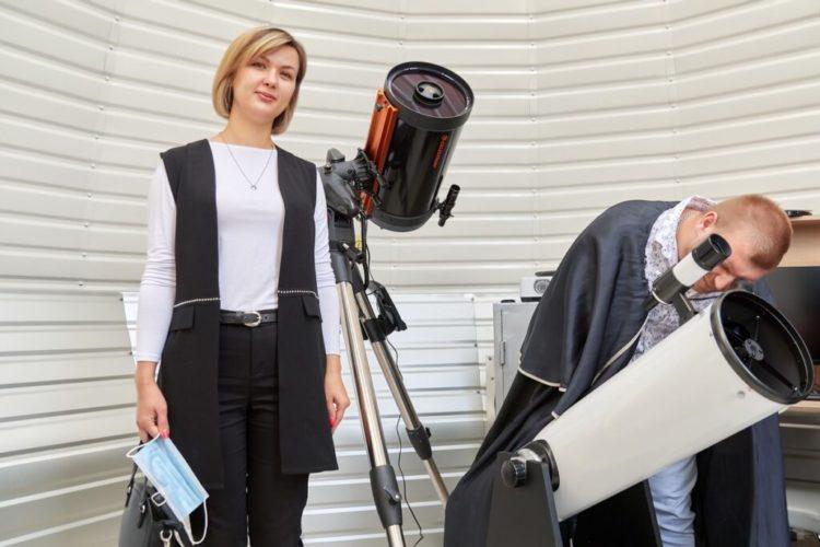 Фонд Тільки разом телескопи в обсерваторію